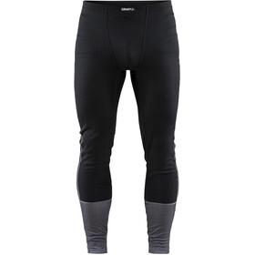 Craft Baselayer Set Men black/dk grey melange